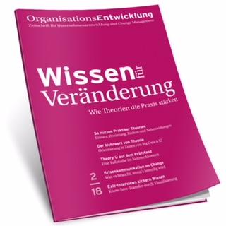 Change Management, Organisationsentwicklung, Wissen für Veränderung